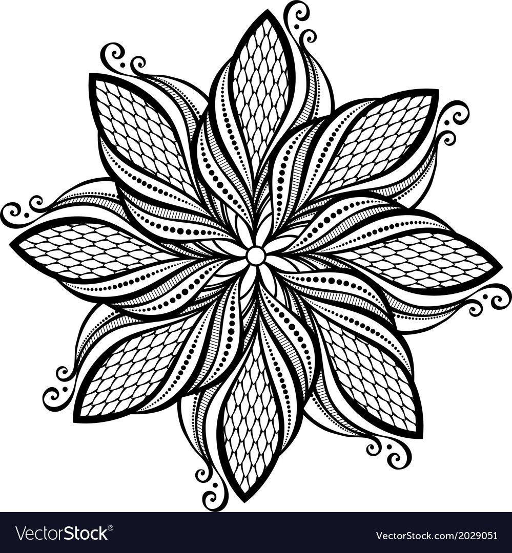 Coloring Book Flower Lotus