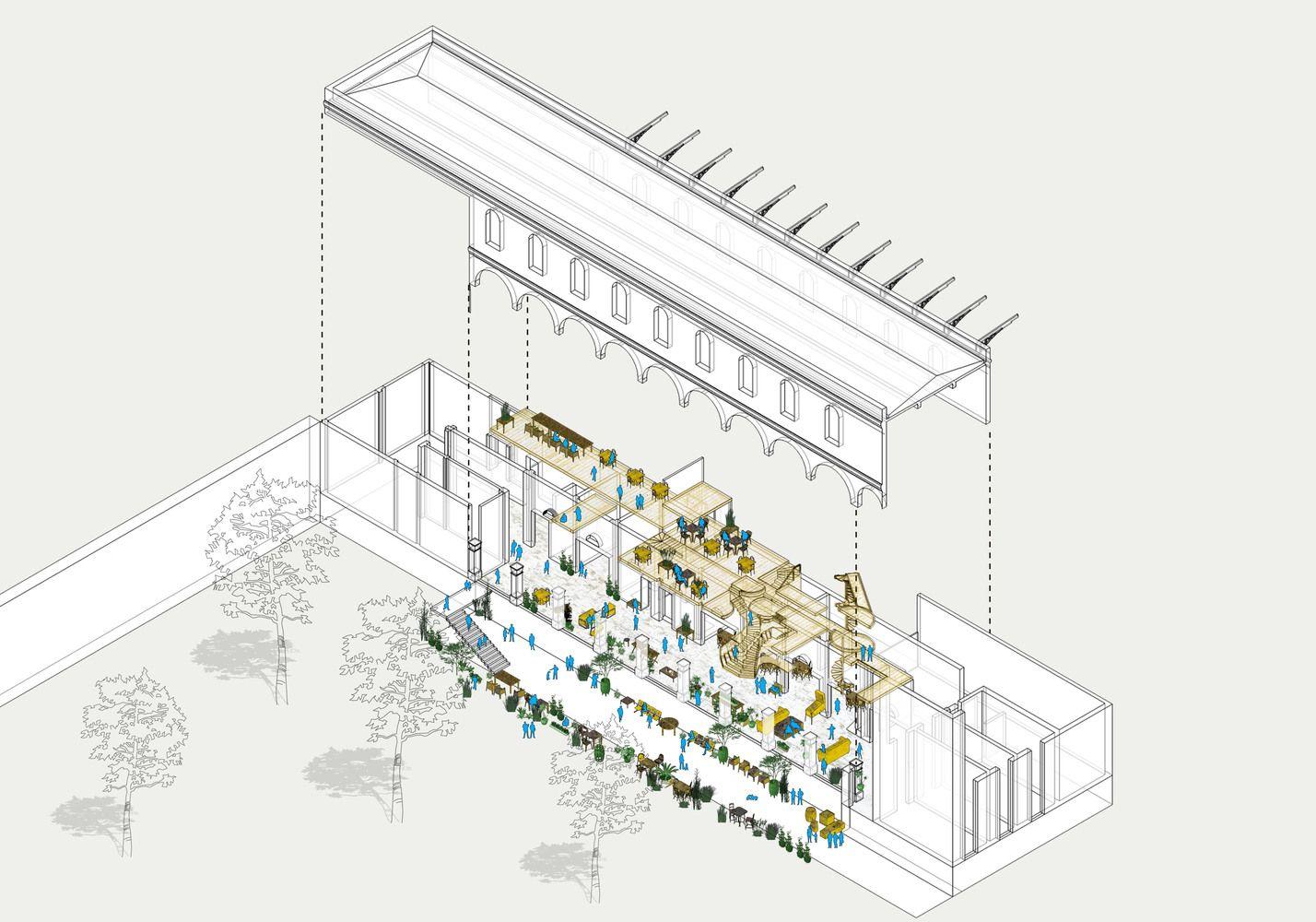 Galería de En Barrio San Diego, la Arquitectura y el Jardín de La Diana - 1