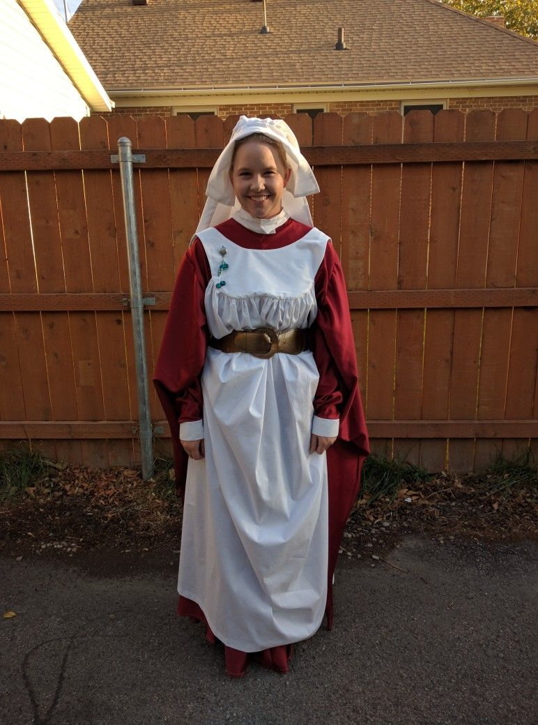 Pin By M Hamilton On Madame Pomfrey Outfit Costume Costumes Diy Costumes Halloween Party