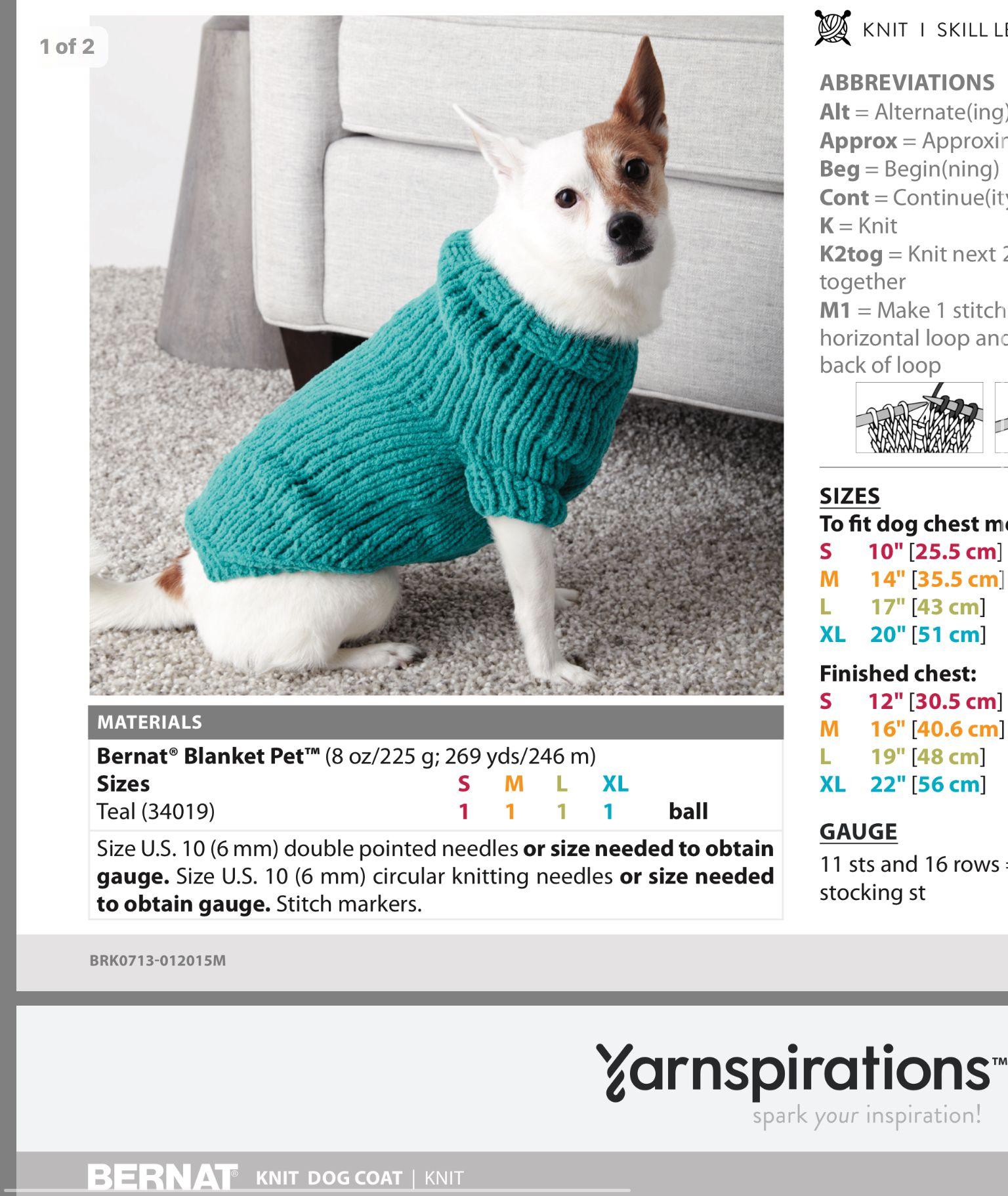 Pin By Stephanie Trammell On Knitting Crochet Dog Sweater Free Pattern Small Dog Sweaters Dog Sweater Pattern