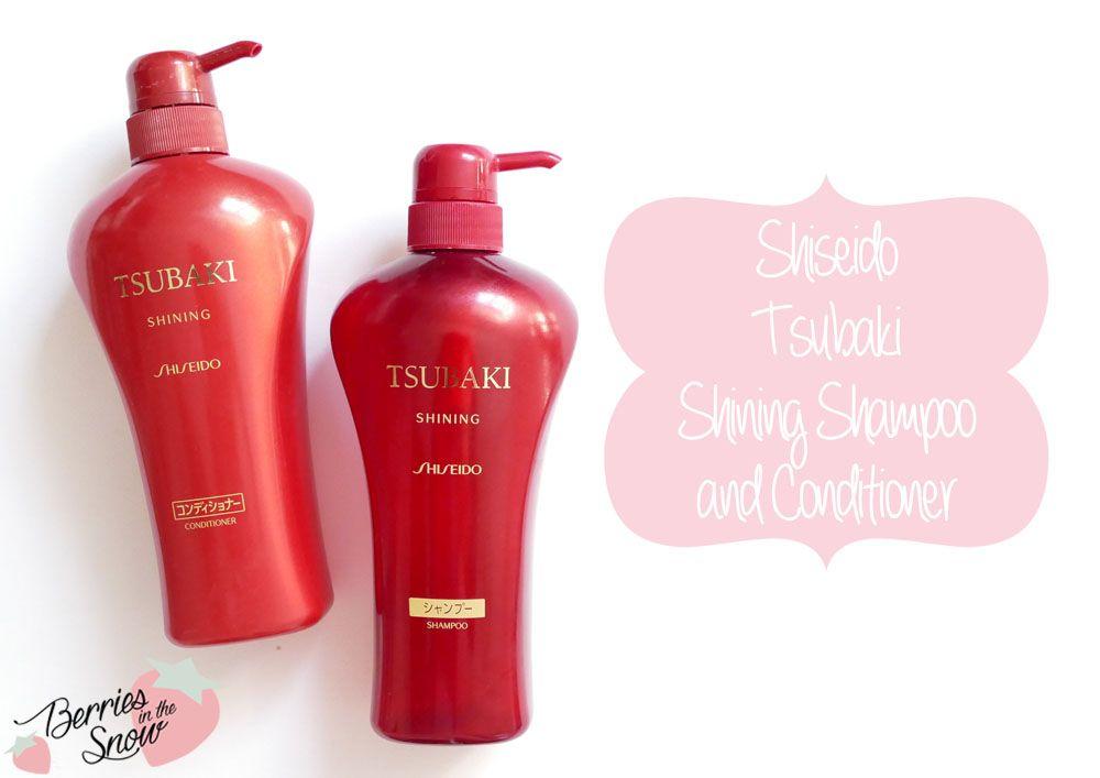 Review: Shiseido Tsubaki Shampoo and Conditioner   hair