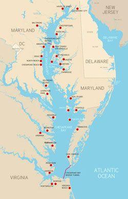 Chesapeake Va Map on