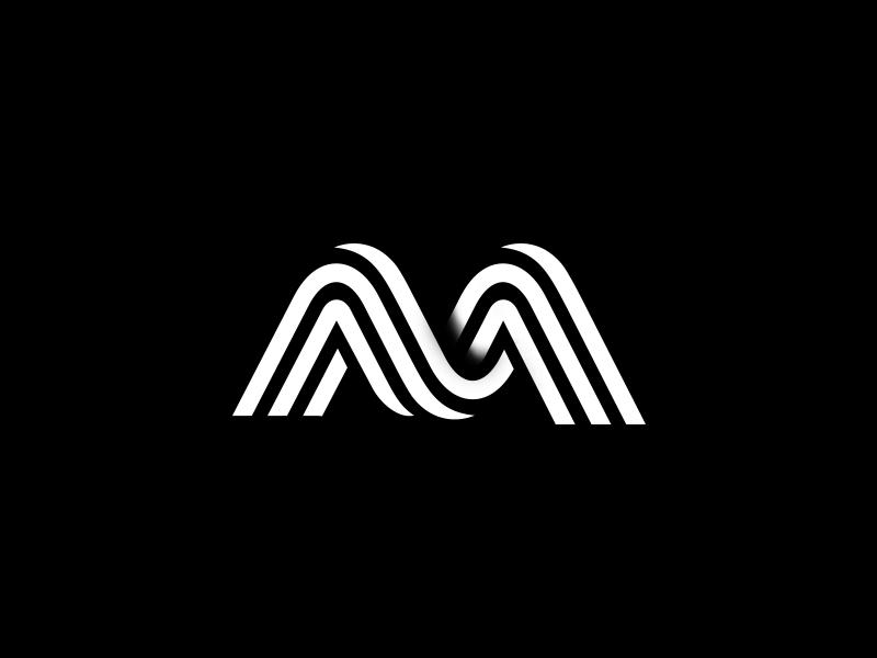 M Logo Mark Logo Design Typography Logo Mark Logo Design