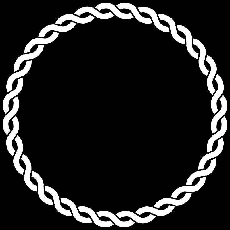 Clipart Rope Border Circle Clipart Best Clipart Best Clip Art Borders Round Border Public Domain Clip Art