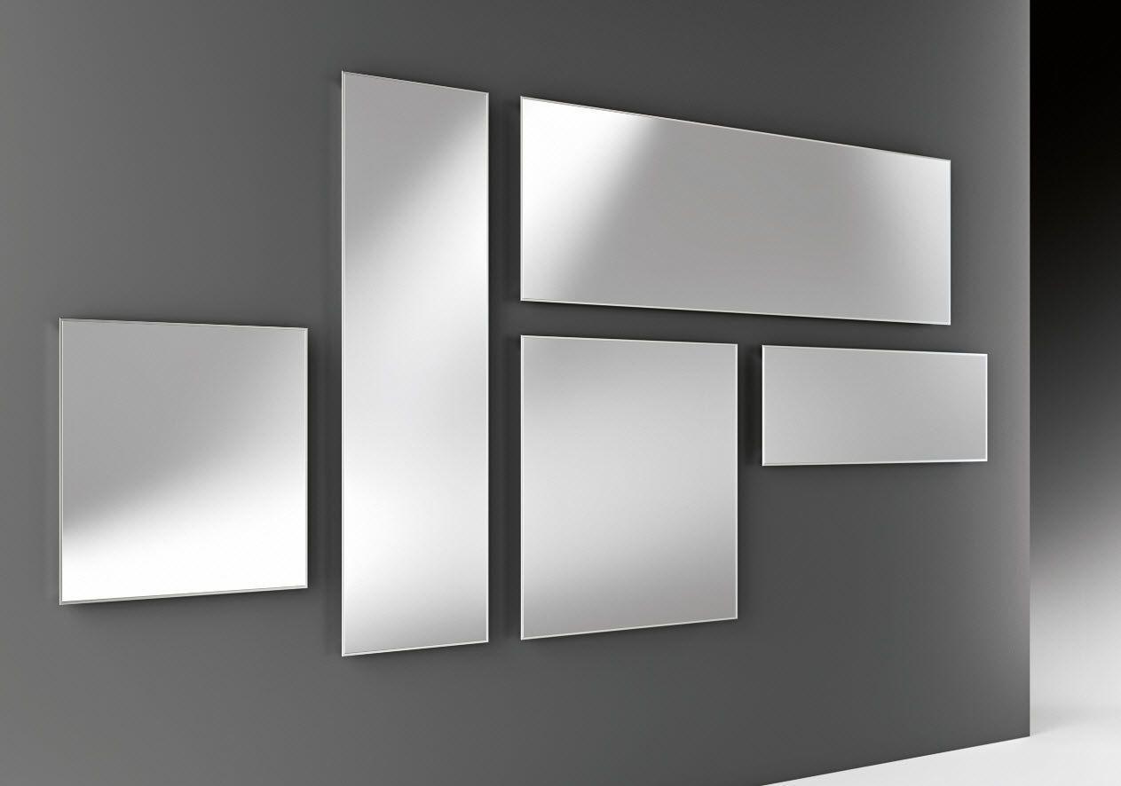 étourdissant miroir mural contemporain | Décoration française ...