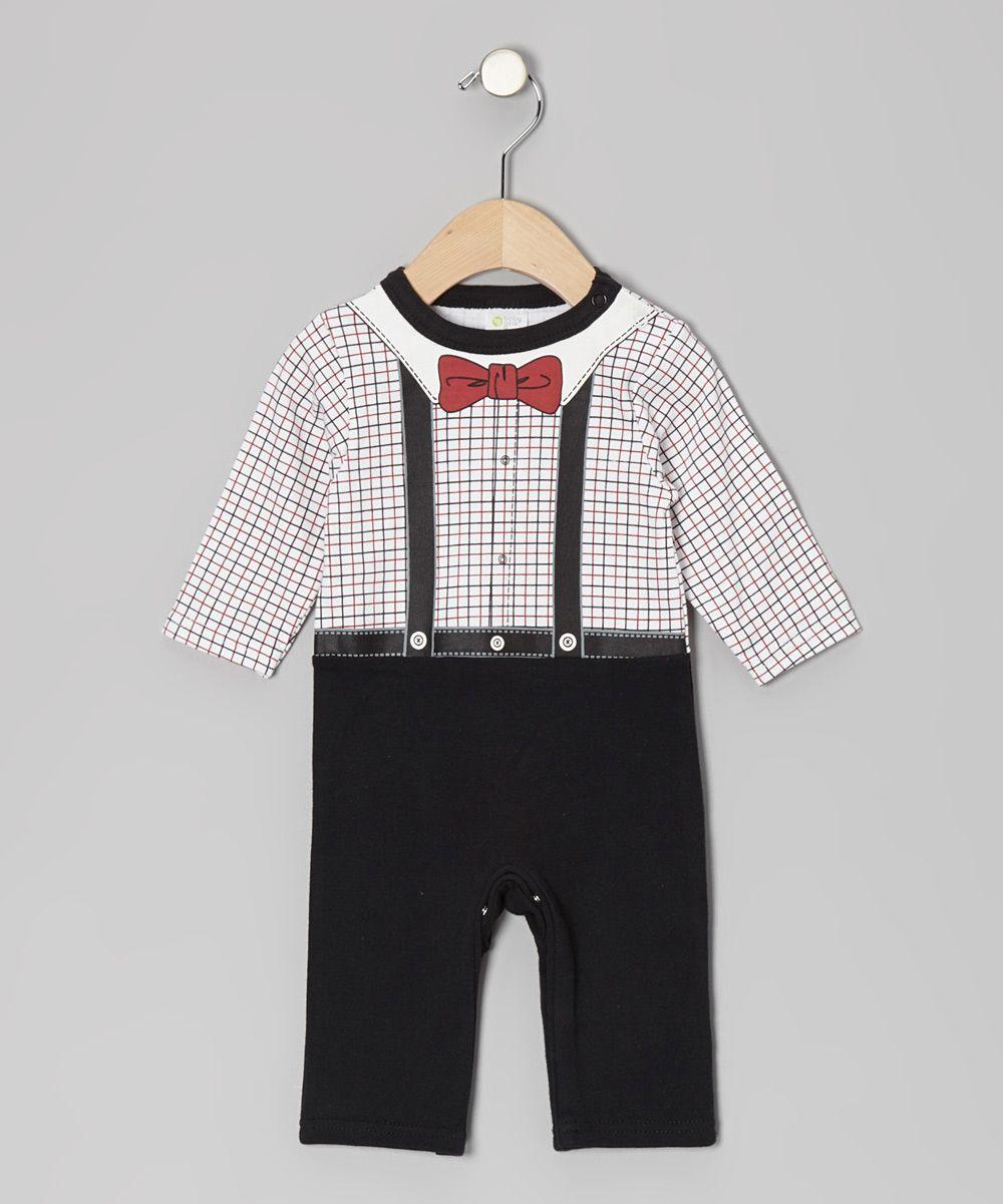 Black Bow Tie Playsuit