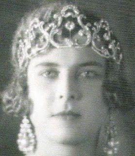 Tiara Mania: Queen Margherita of Italy's Pearl & Diamond Tiara worn by Queen Marie Jose