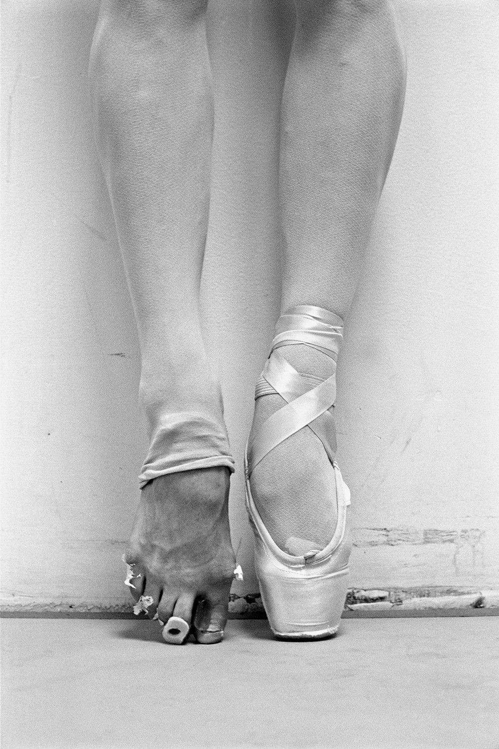 Ballet Toes by Henry Leutwyler  Pointe shoes are NOT a joke! its not easy and its not fun all the time!