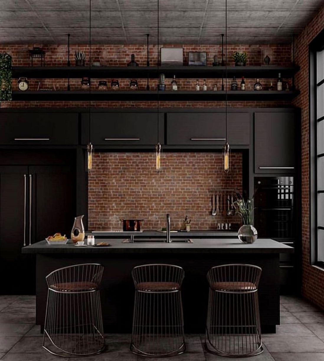 Pin De Veronica Russo En Industrial Kitchen Diseno De Interiores