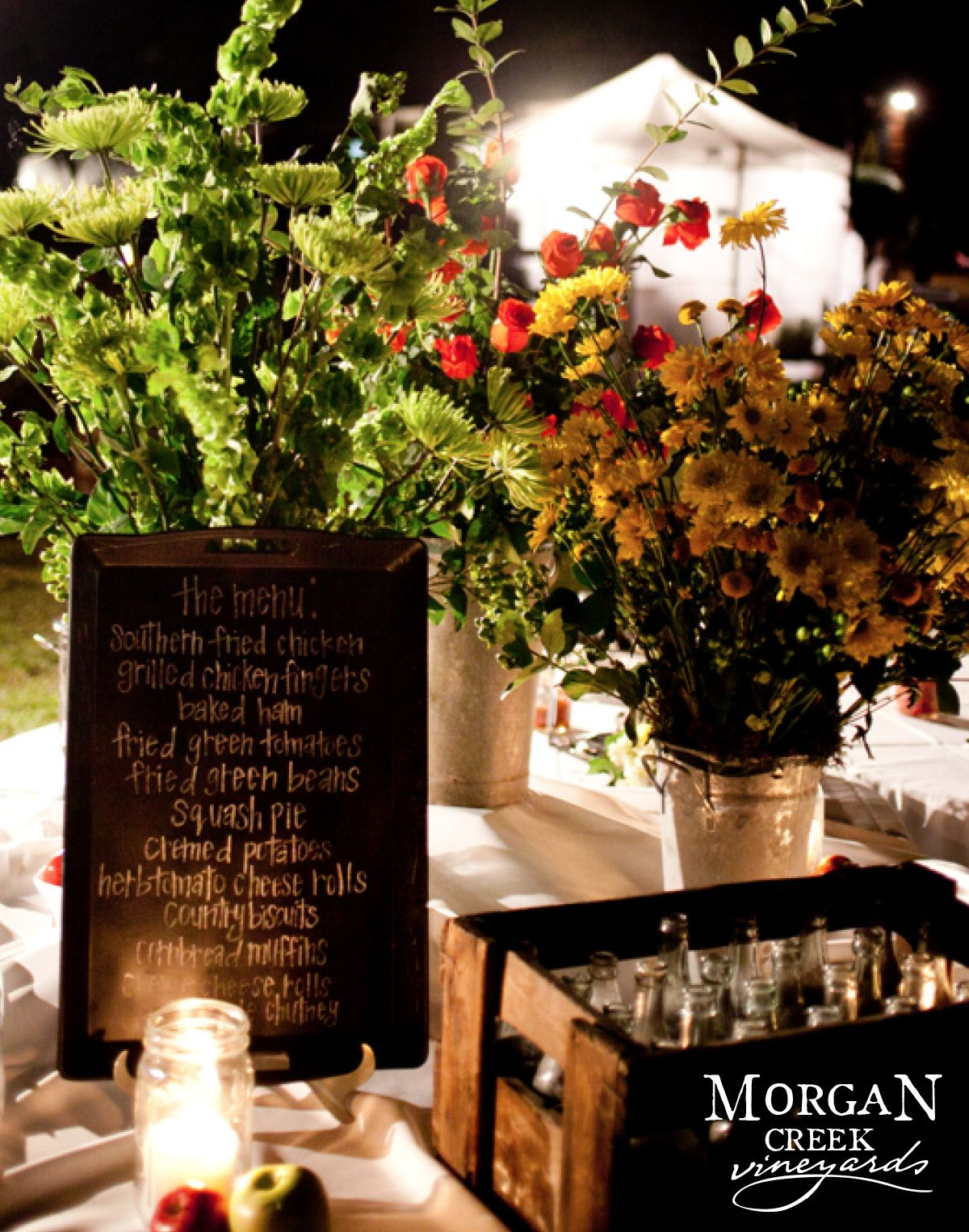 www.morgancreekwinery.com #winery #vineyard #winerywedding #vineyardwedding #bride #groom #wedding #reception #florals