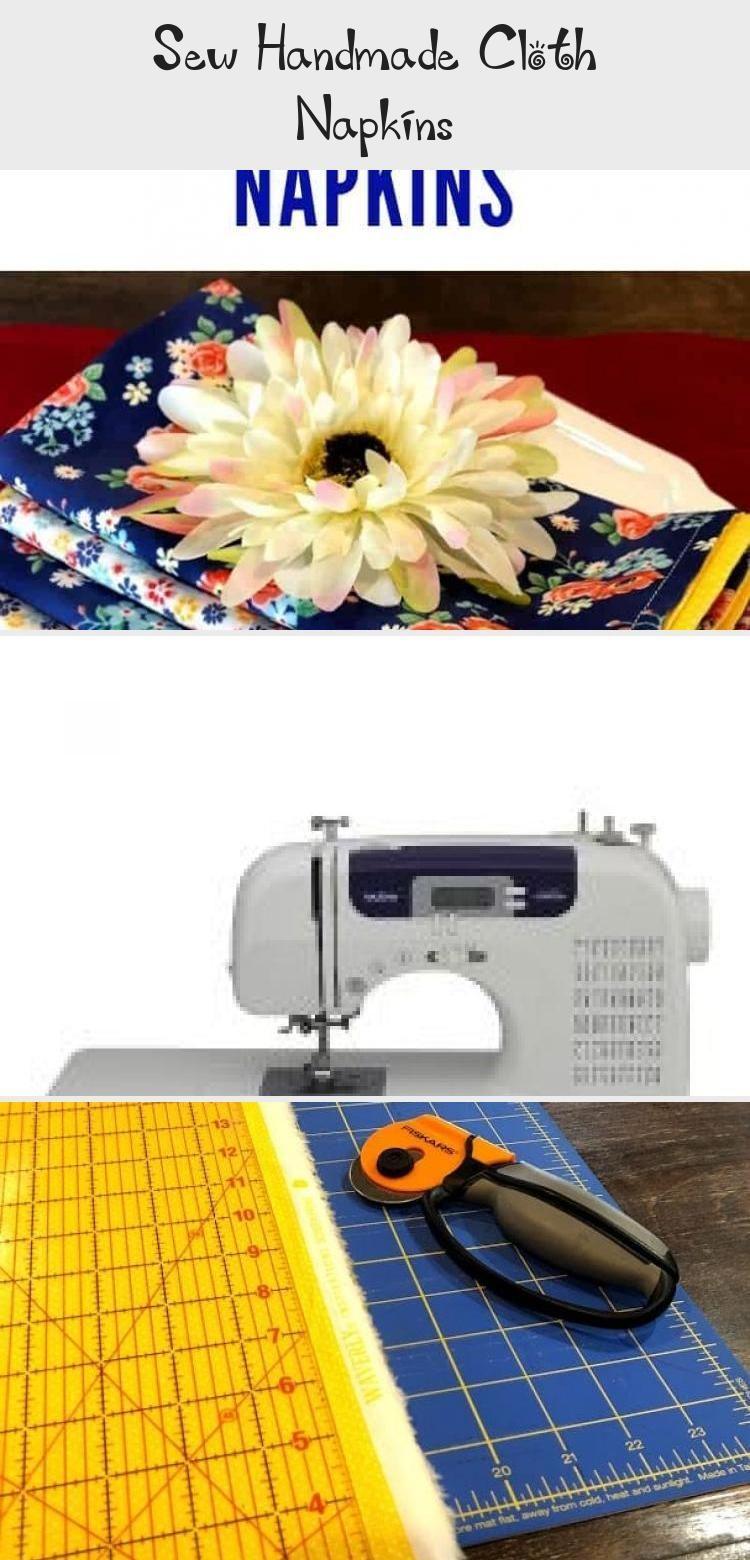 Sew Handmade Cloth Napkins  KNITTING Sew Handmade Cloth Napkins  Love these