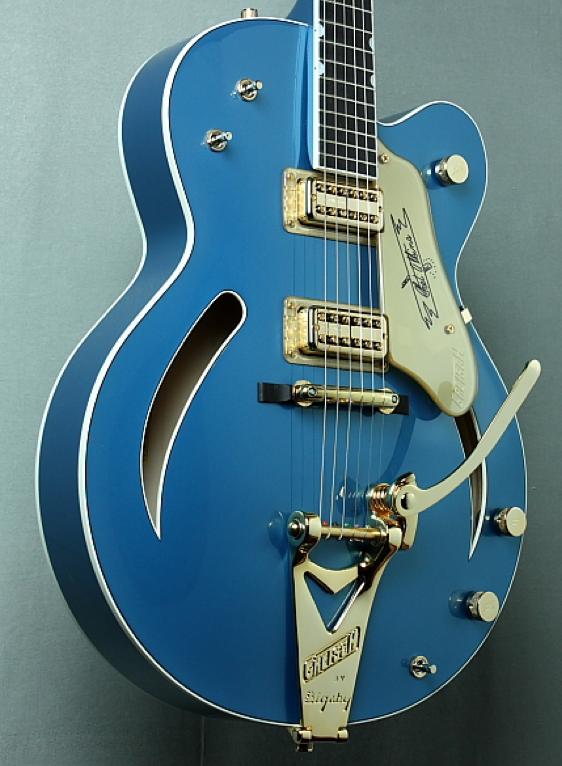 blue gretsch custom shop 6120 guitars amps and pedals guitar pedal steel guitar gretsch. Black Bedroom Furniture Sets. Home Design Ideas