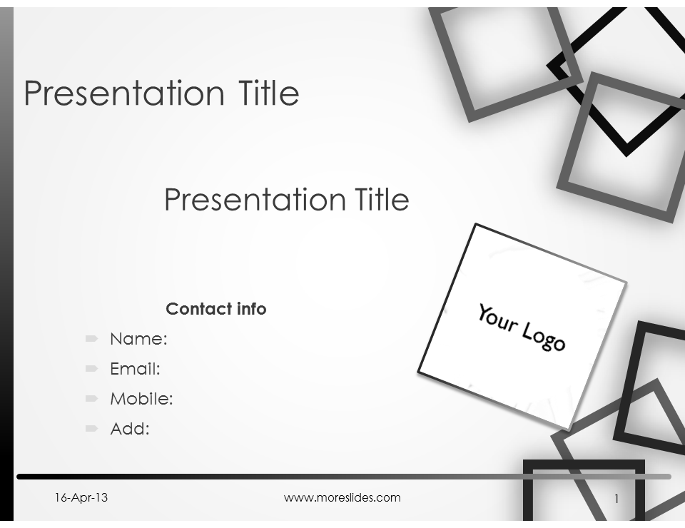 Download Editable Microsoft Power Point presentation Box
