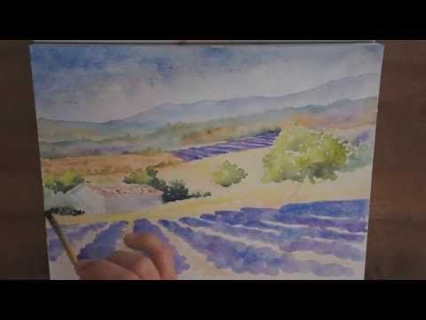 Tuto Aquarelle Bouquet De Tournesols Watercolor Tutorial Of