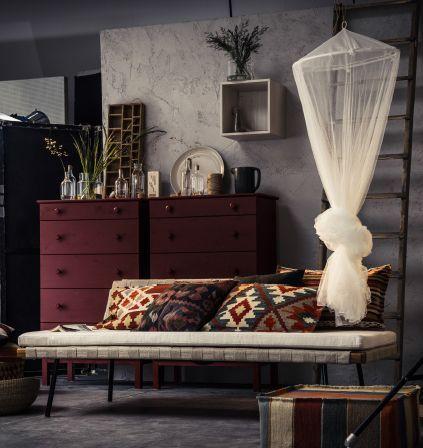 sinnerlig bedbank ikea ikeanl bank ontspanning logeren home design pinterest glass. Black Bedroom Furniture Sets. Home Design Ideas