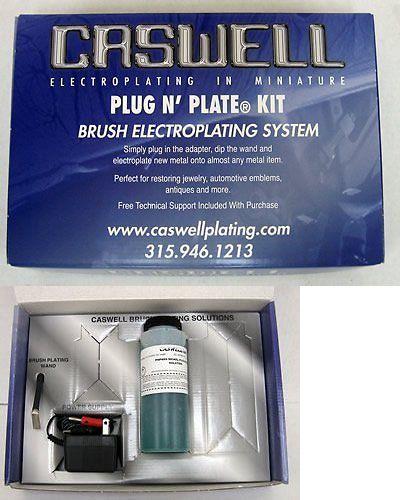Metalworking 41369: Caswell Plug N Plate® Electroplating