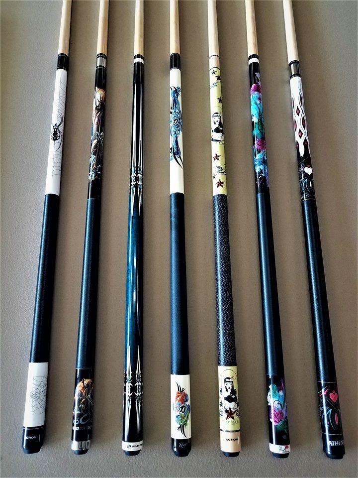Buy Pool Cues   A&C Billiards & Barstools   Pool cues, Billiard