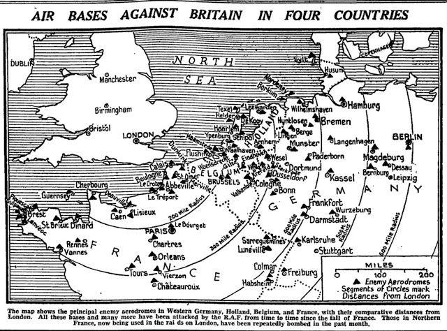 10 September 1940 worldwartwofilminspectorcom London Blitz map