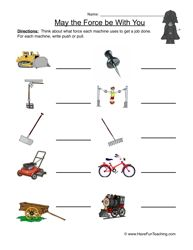 Force And Motion Worksheet 1 With Images Force And Motion