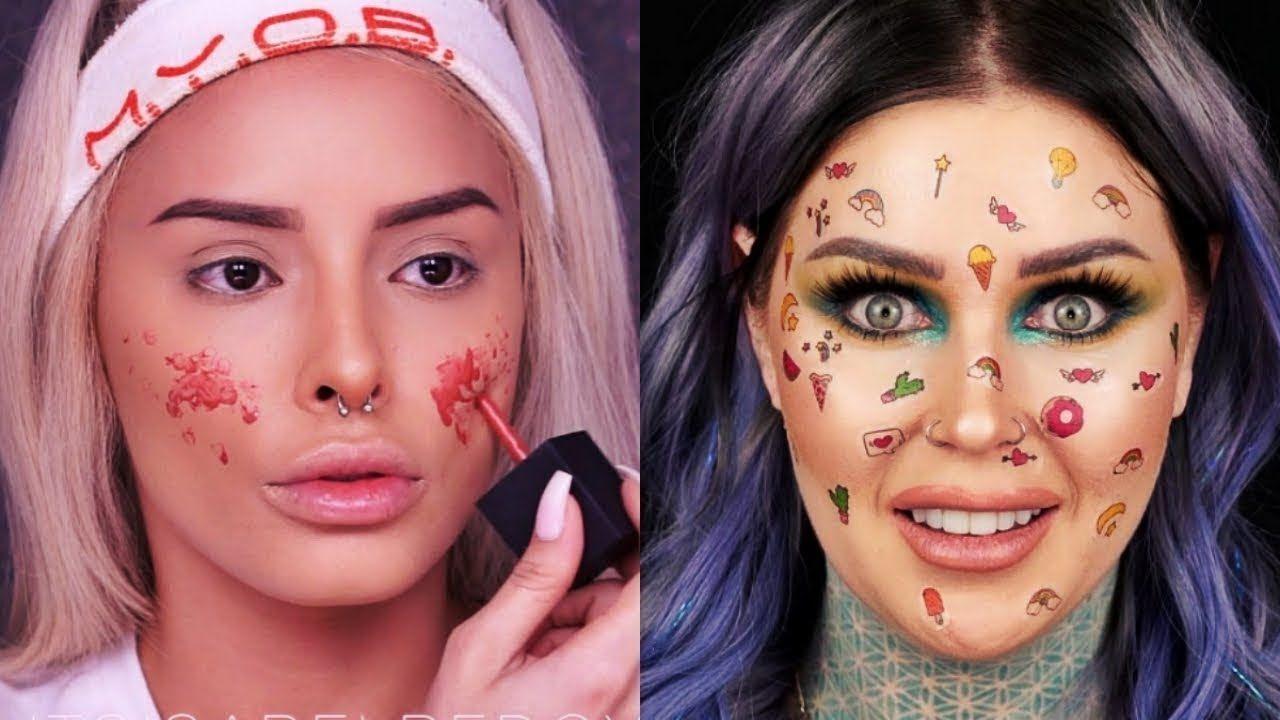 Best makeup transformations 2018 new makeup tutorials compilation best makeup transformations 2018 new makeup tutorials compilation beauty publicscrutiny Choice Image