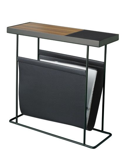 Companion Side Table With Magazine Rack Furniture Sofa Table With Storage Furniture Design