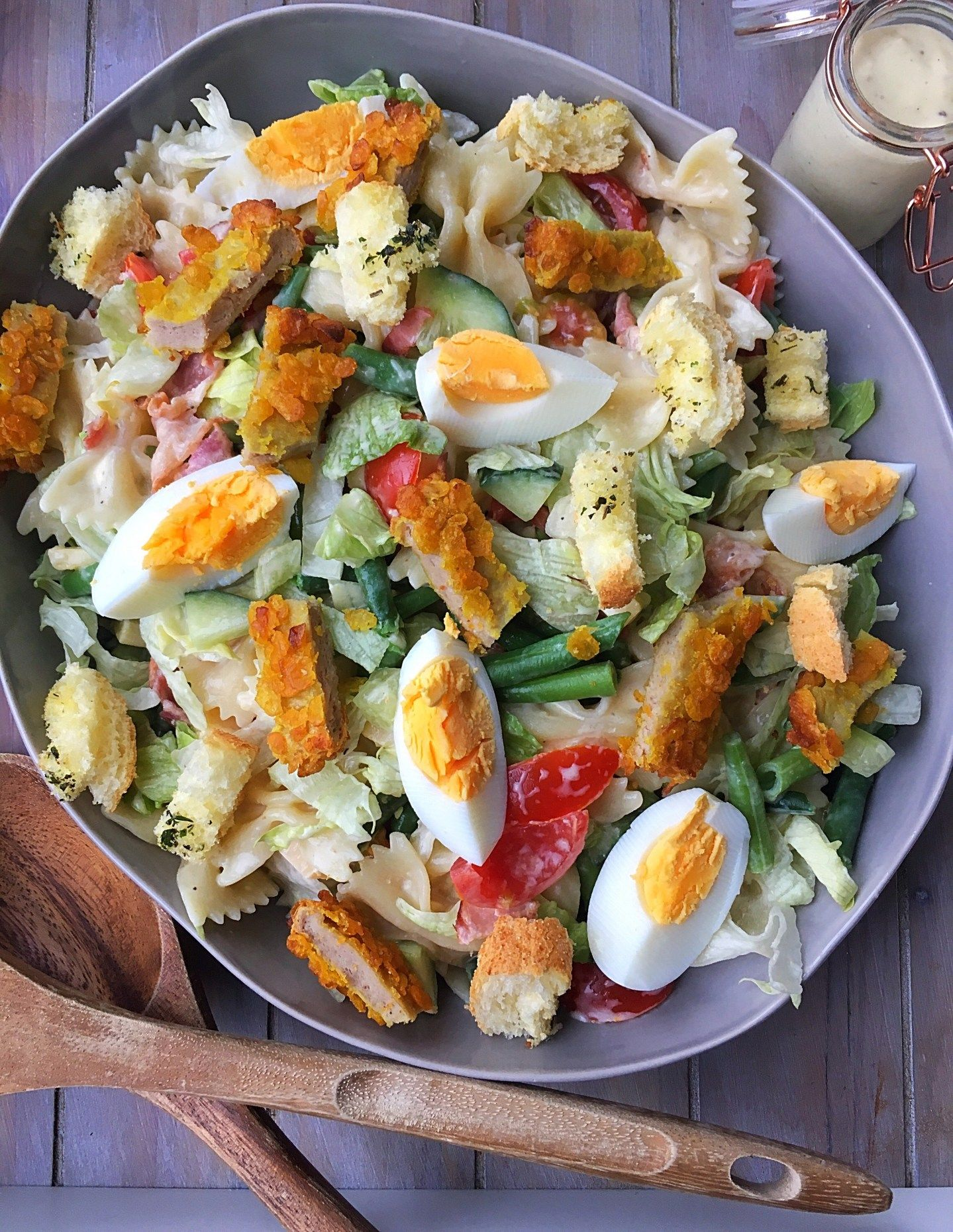 Caesar salade - Tasty Food SoMe #gezondeten