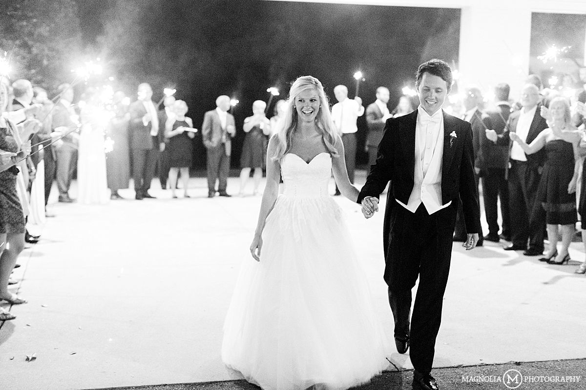 Winston M Nc Bride Groo Exiting With Sparklers Wedding Photographer Alissa