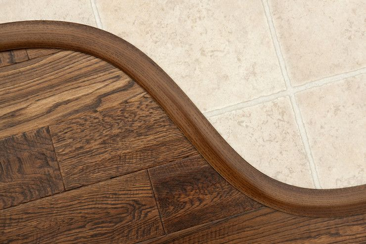 Flexitions Tile to wood transition, Transition flooring