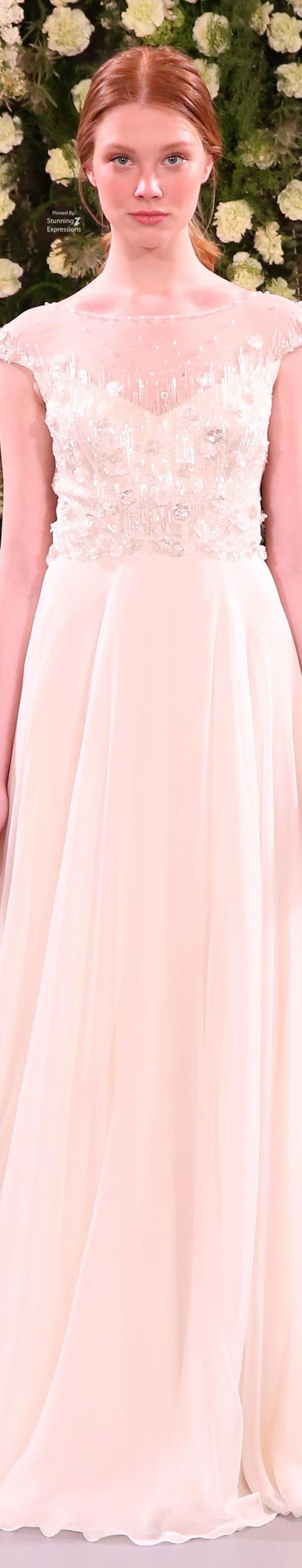 Jenny Packham Bridal Spring 2018 | DREAM WEDDING™ | Pinterest