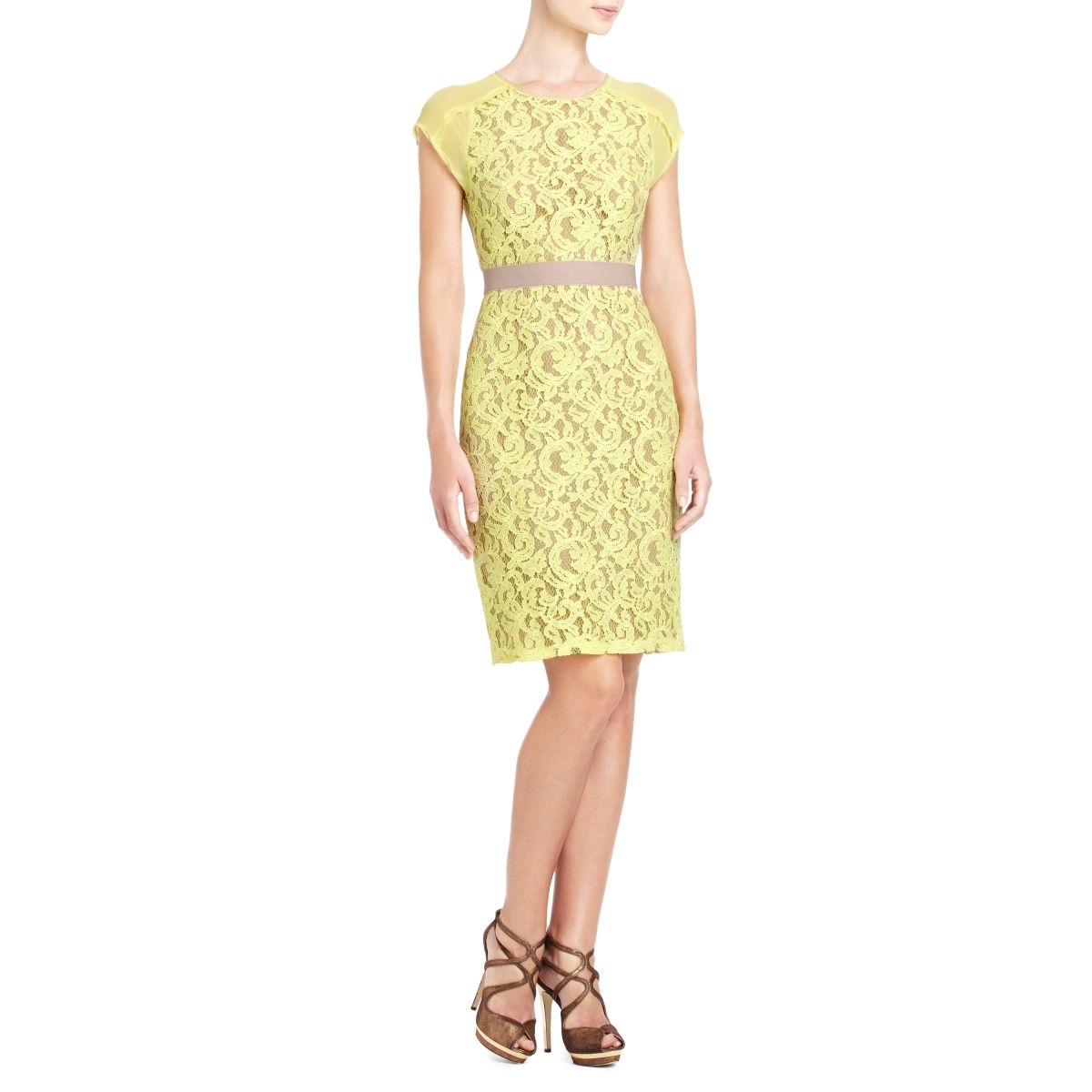 26e9213e50 BCBGMAXAZRIA - SHOP BY CATEGORY  DRESSES  VIEW ALL  CHARA LACE DRESS ...
