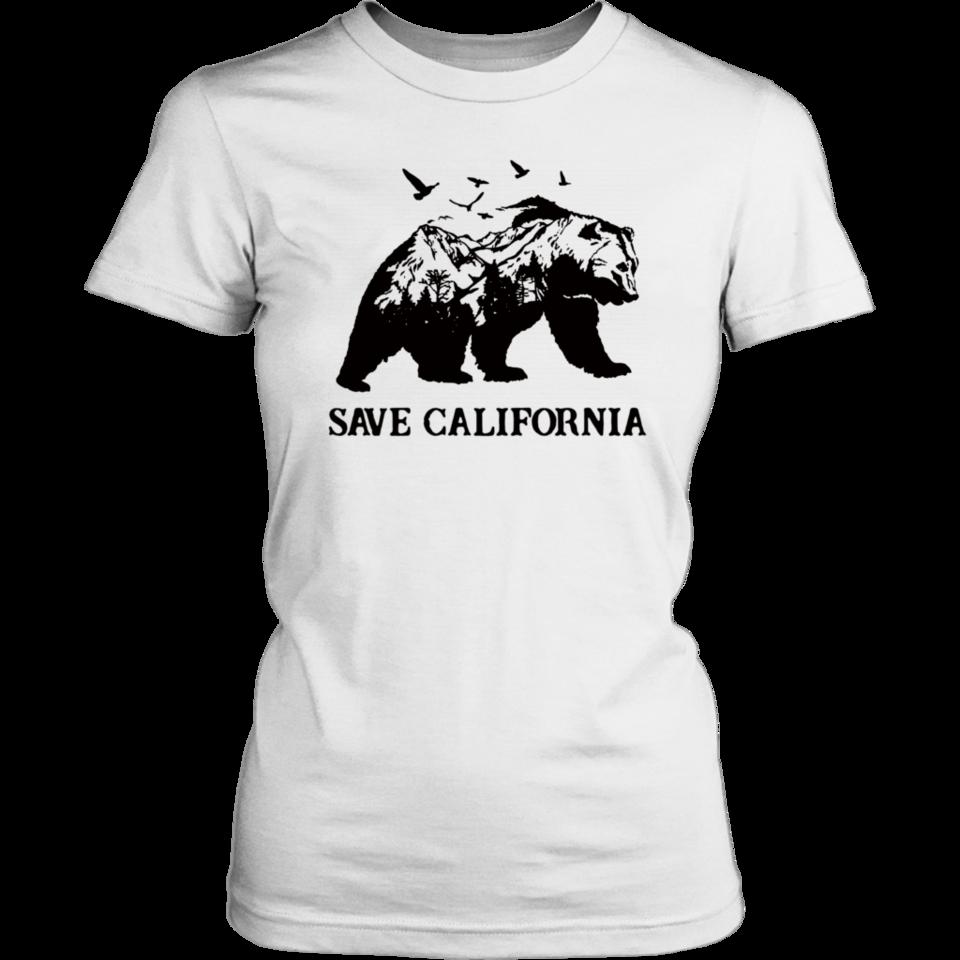 Bear Go Outside Save California Shirt California Shirt Shirts Mens Tops