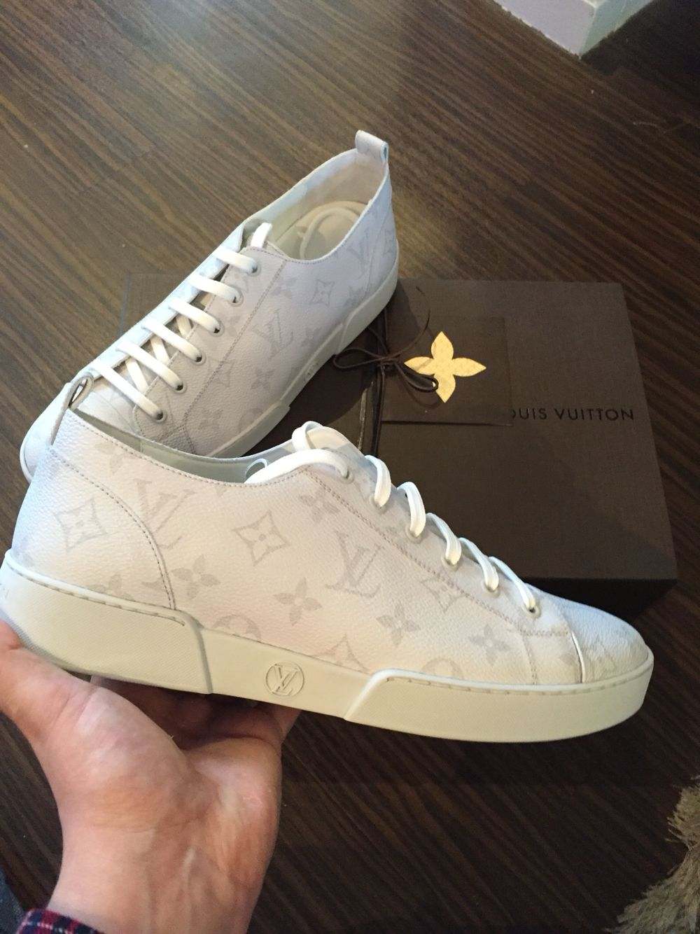 1fb7f0f3db9a New season Louis Vuitton low top sneakers. Available all sizes   apersonalaffair.co.uk