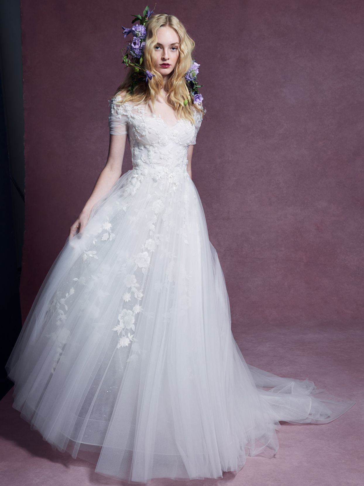 Marchesa Fall 2020 Wedding Dress Collection Wedding