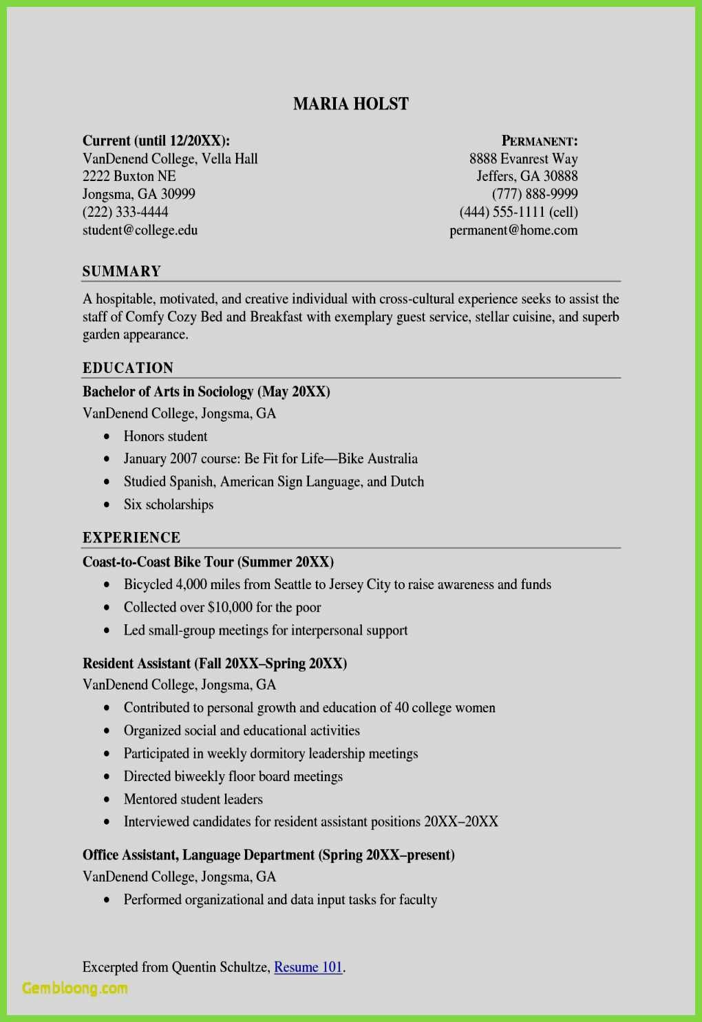70 Unique Photos Of Resume Samples For Jobs In Australia With