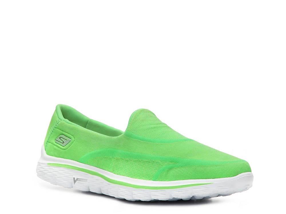 Skechers Gowalk 2 Super Sock Slip On Walking Shoe Womens Dsw