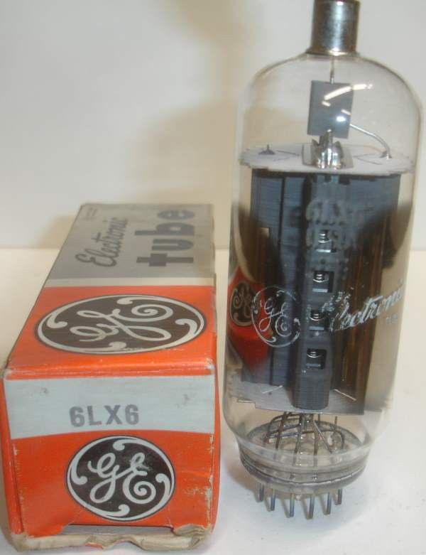 6LX6=6LF6 NOS (5 in stock) | Power Vacuum Tubes | Vacuum