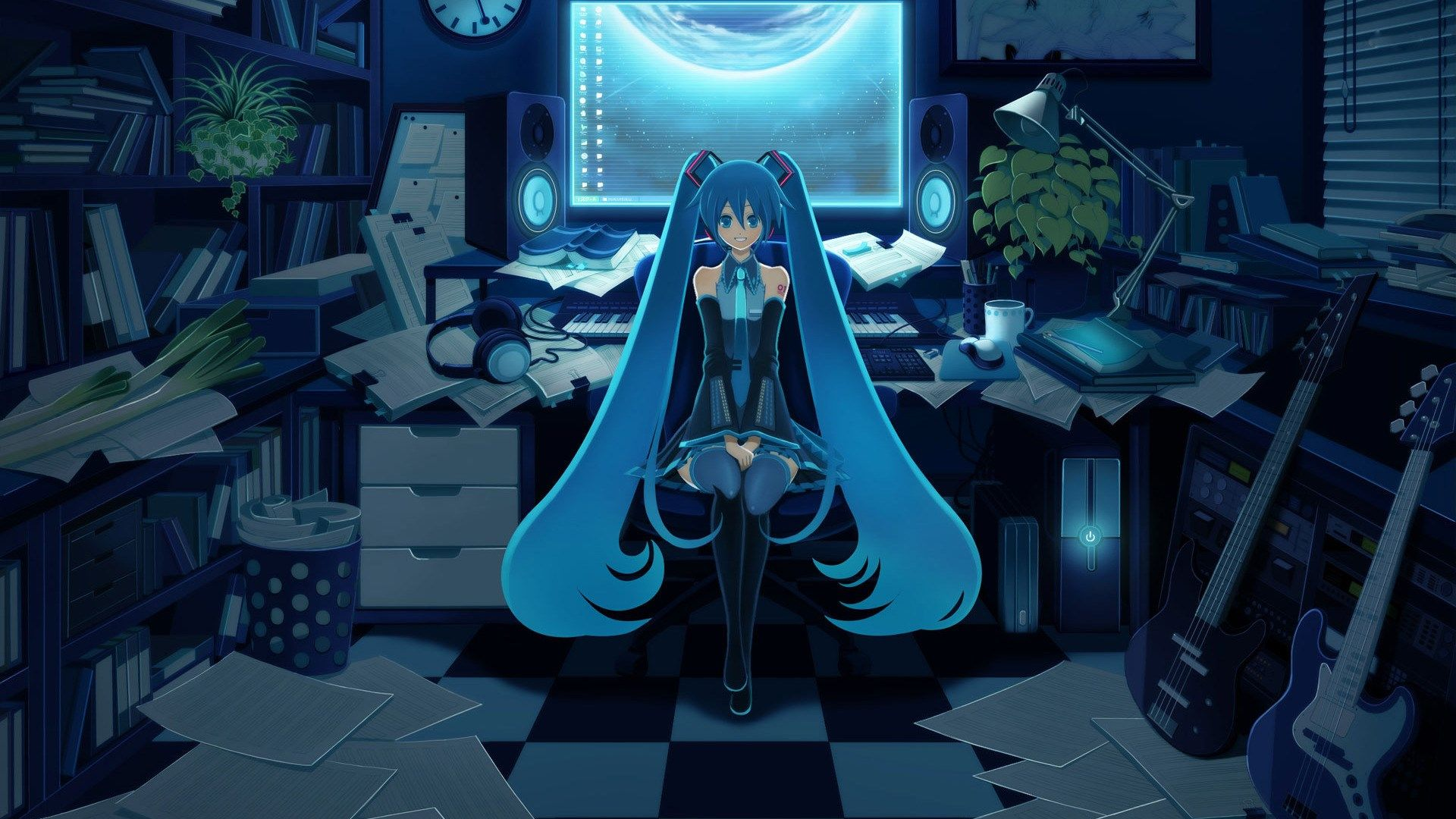 Hatsune Miku Vocaloid Anime 1920x1080 Wallpapers Hatsune Miku Vocaloid Anime Wallpaper