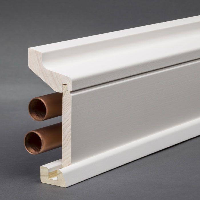 wei e 3 teilige sockelleiste f r heizungsrohre 60 x 115 mmdieses profil auch genannt. Black Bedroom Furniture Sets. Home Design Ideas