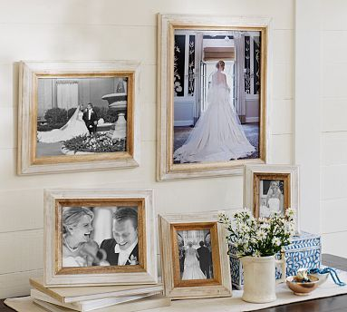 Verena Whitewashed Frames #potterybarn (Ordered a 4x6 and a 5x7 to ...