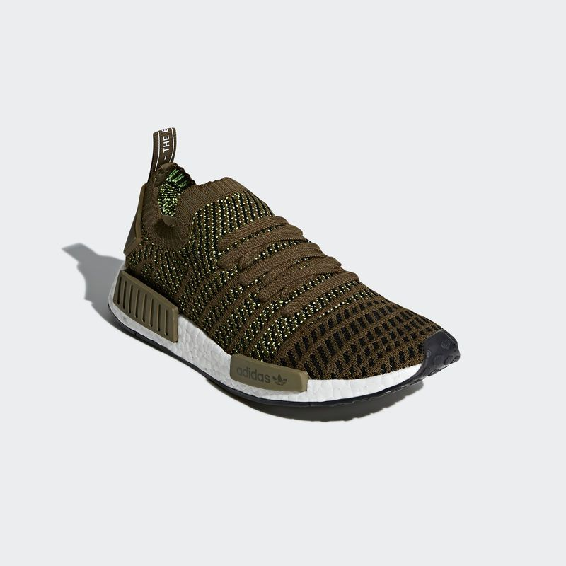 2ea9cafb7d982 adidas NMD R1 STLT PK Trace Olive in 2019