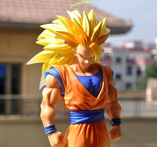 (28.66$)  Watch more here  - Dragon Ball Z Super Saiyan 3 Son Goku Figuarts ZERO 11''