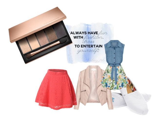 """Untitled #54"" by holdenbeach on Polyvore featuring TOMS, Zizzi, Allegra K and LE3NO"