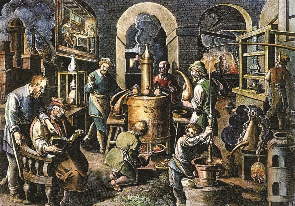 Alchymistické laboratórium