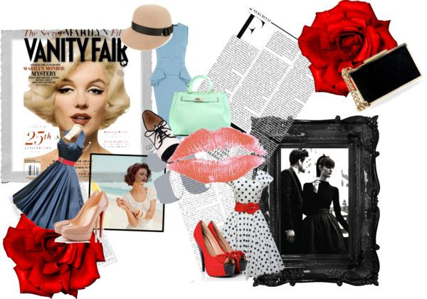 """""""Totally 50s"""" by armitchell on Polyvore"""