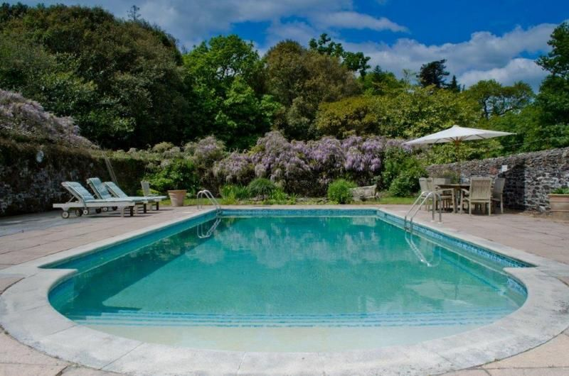Image Result For Walled Garden Swimming Pool Garden Swimming Pool Beach House Design Holiday Home