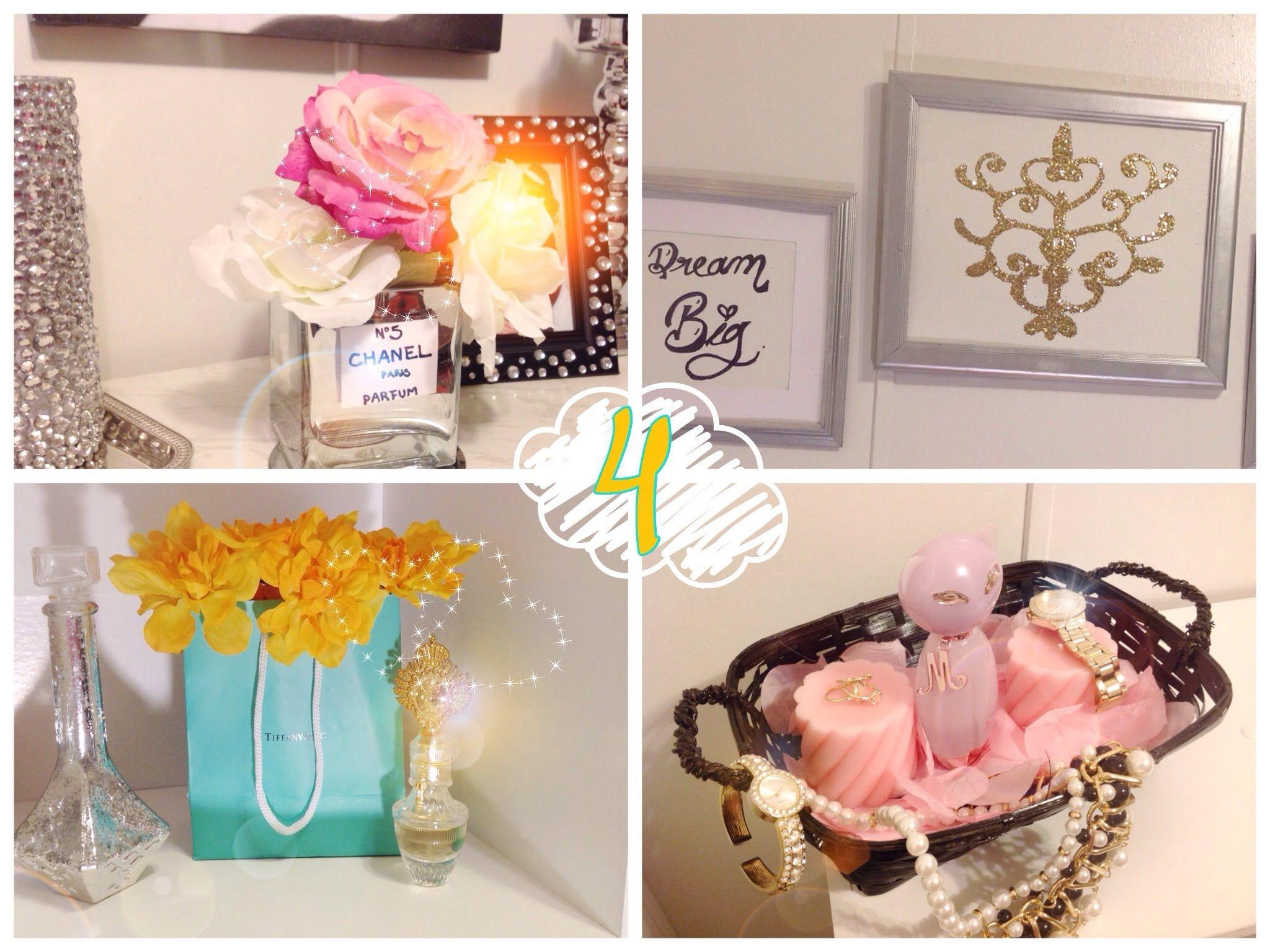DIY Ideas baratas para decorar tu habitación ... on Room Decor Manualidades Para Decorar Tu Cuarto id=24600