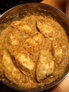 Perfect Panko Chicken with Hummus