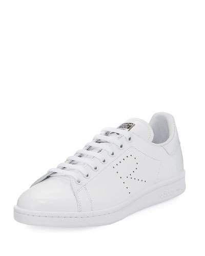 Raf Simons x Adidas Leather Low Top Sneakers geniue stockist sale online qBvzlcNCJv