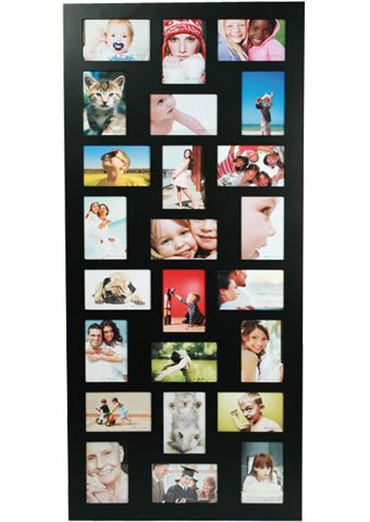 Aperture photo picture frame holds 24 photographs photos multi frame ...