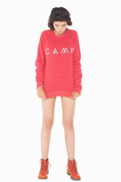 CAMP Unisex Sweatshirt -PREORDER / Red